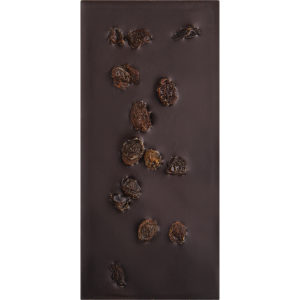 Sweet Organic Dark Chocolate with Rose Petals and Black Pepper