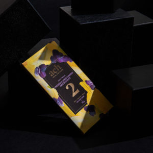 Sweet Organic Lavender and Lemon Flavored Dark Chocolate